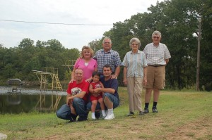 Norma, Jerry, Mom Fry, Bill, Chris, John Jr., John Sr.