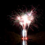 Fry Lake Fireworks 2011