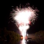 Fry Lake Fireworks 2011 - Finale